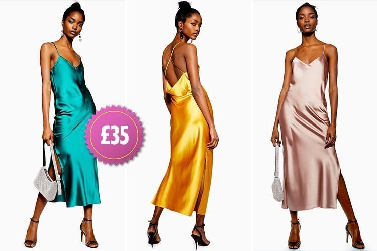 4a68bbc97001 Topshop launches a £35 dress version of its best-selling silk skirts - and  it comes in five colours | LifeStyles-NS