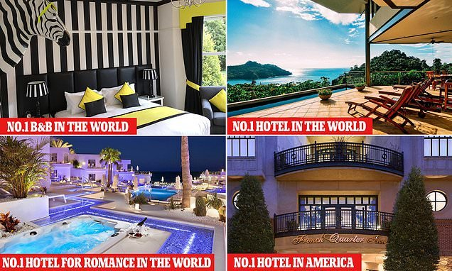 7d4cb7b539 TripAdvisor reveals the best hotels and B Bs in the world ...