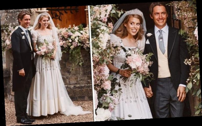 Princess Beatrice Wedding Dress Breaks Royal Tradition Queen